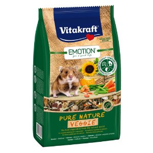 [비타크래프트]Emotion Pure Nature VeggieHamster 600g(33784)유통기한